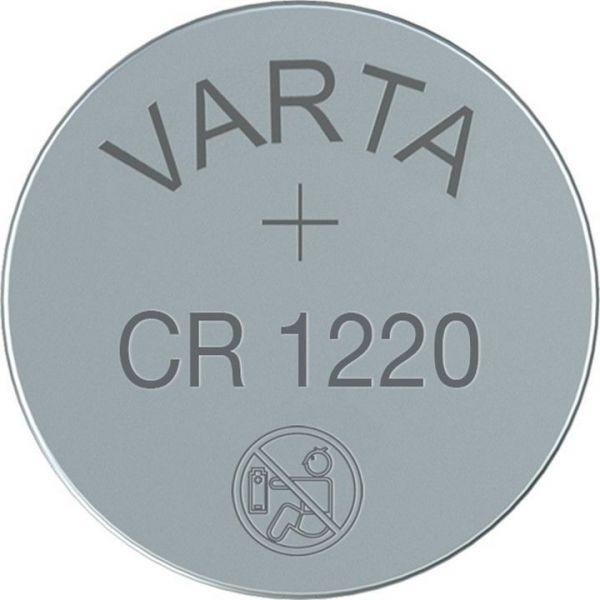 CR1220 (6220) CR1220, DL1220 Lithium-Knopfzelle, 3V Varta